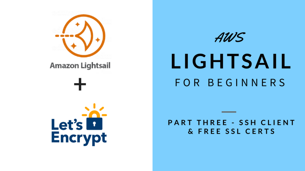 AWS Lightsail for Beginners Part 3