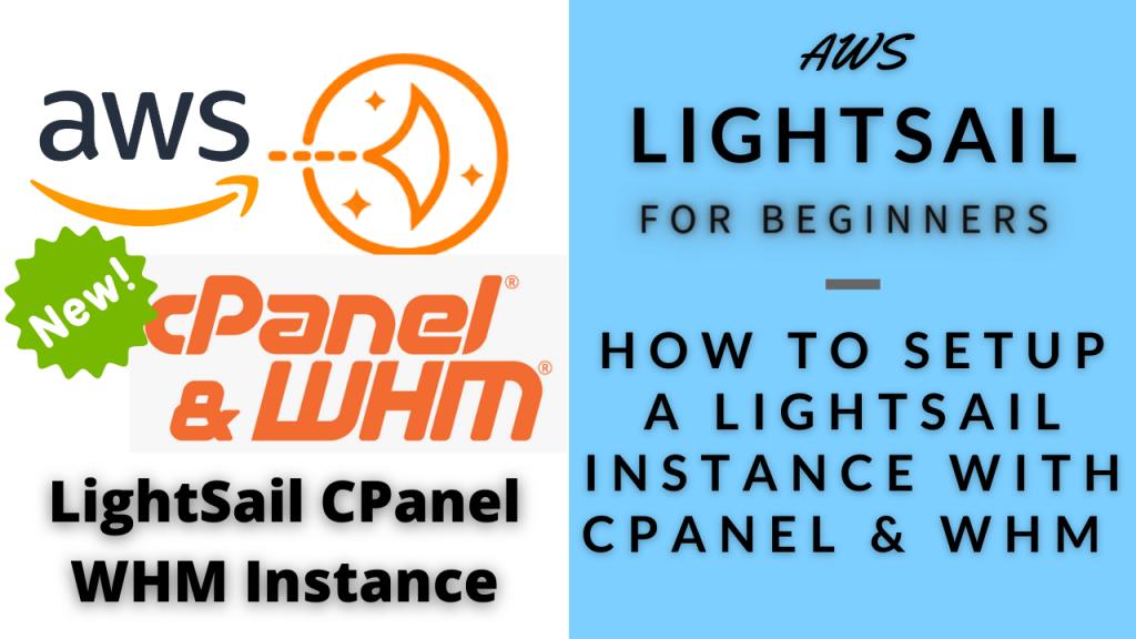 AWS Lightsail CPanel & WHM Setup