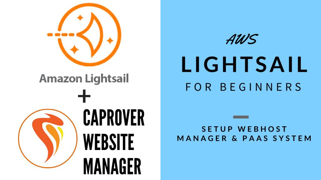 AWS Lightsail - Setup CapRover Hosting Server