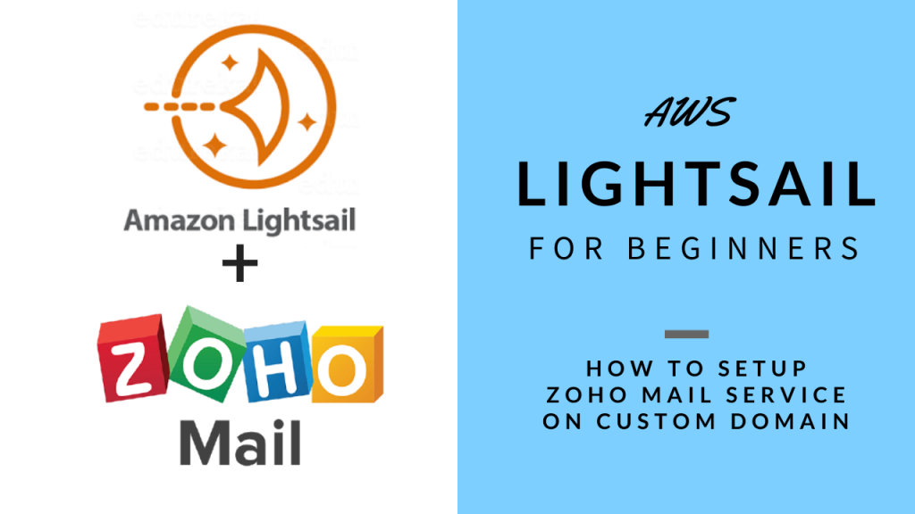 AWS Lightsail for Beginners Zoho Mail Setup