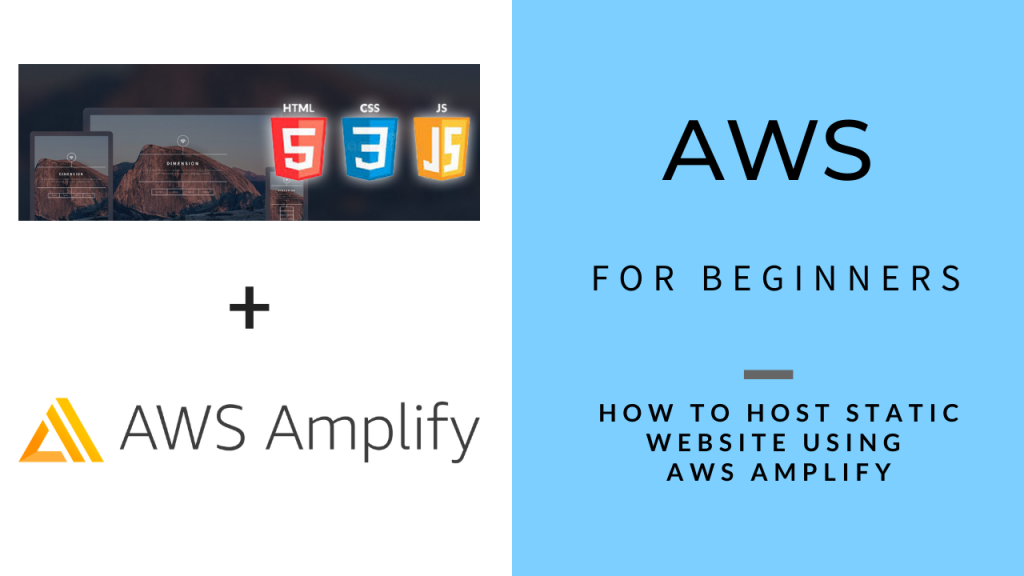 AWS for Beginners - Host Static Website with AWS Amplify (1)