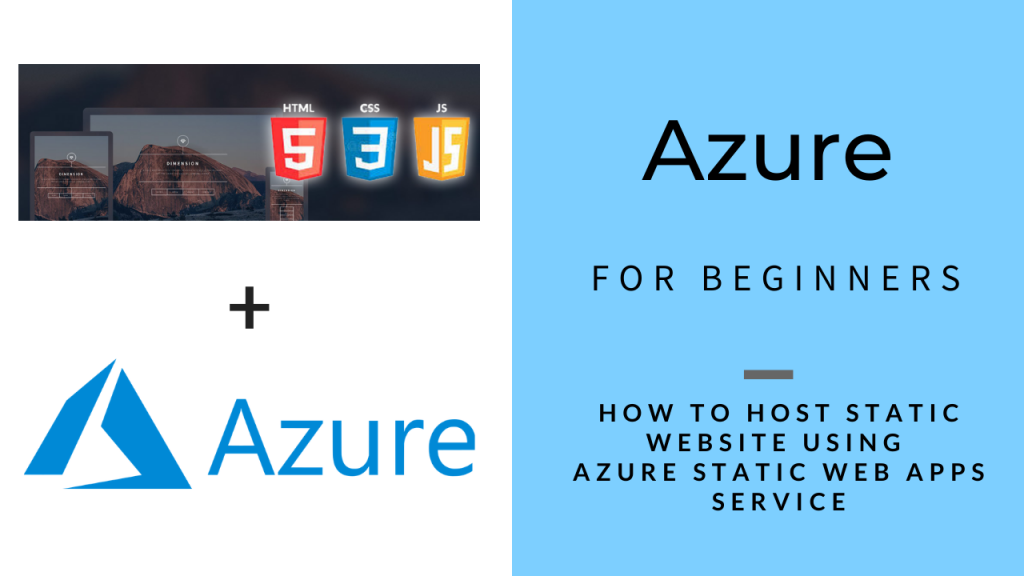 Azure for Beginners - Host Static Website with Azure SWA