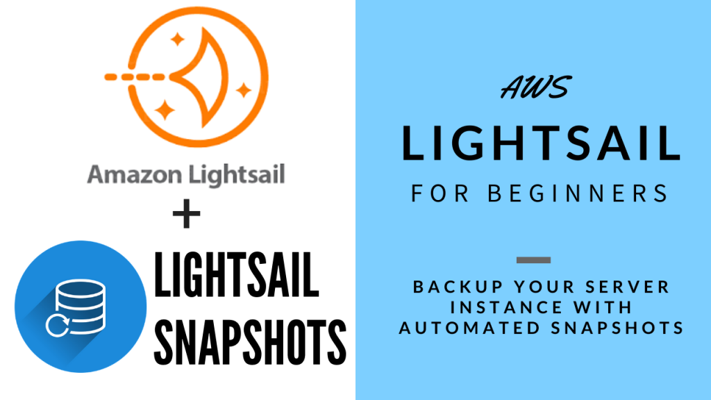 Backups your AWS Lightsail Instance with Snapshots