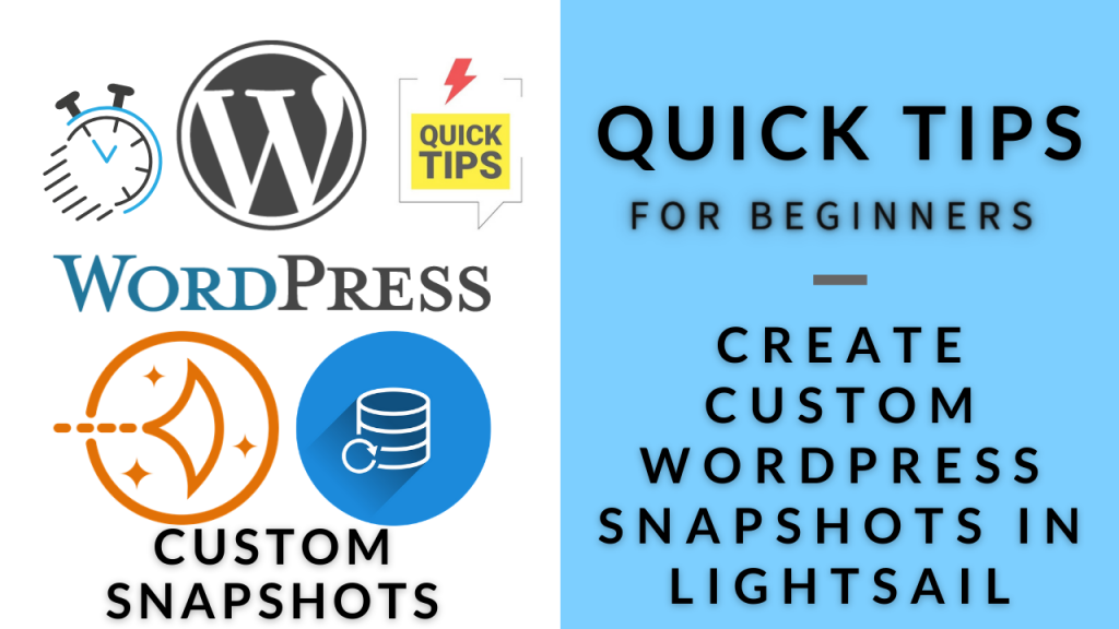 Customized WordPress Snapshots