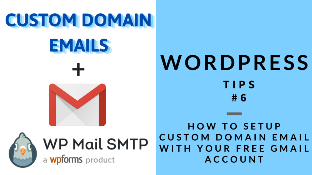 WordPress Tips 6 - SMTP Setup with Gmail